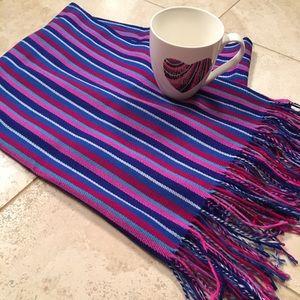Fun colored scarf